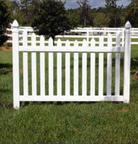 Picket Fence Gates