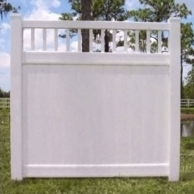 Privacy Fences and More Vinyl Fencing - USA Vinyl Fence Company