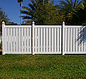 Daytona Vinyl Semi-Privacy Fence