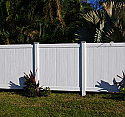 Concord Vinyl Privacy Fence